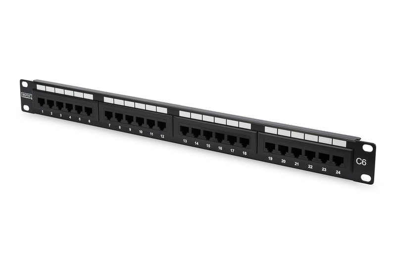 DIGITUS Professional CAT 6 Class E Patch Panel