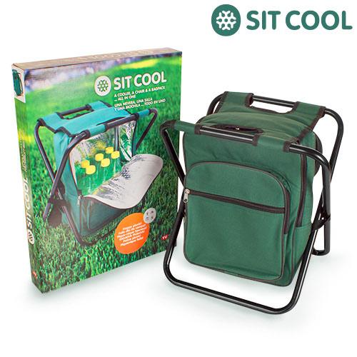 3-në-1 Sit Cool | Karrige e palosshme, qese termike dhe çantë shpine